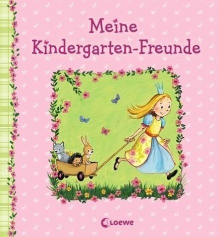 Gebundenes Buch »Meine Kindergarten-Freunde (Prinzessin)«