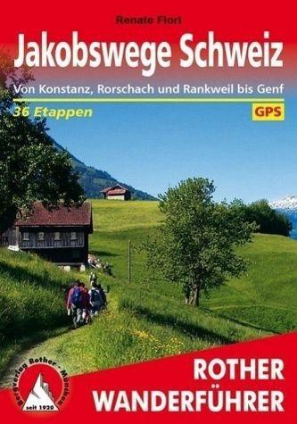 Broschiertes Buch »Jakobswege Schweiz«