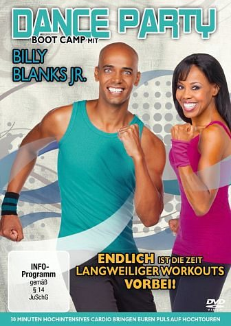DVD »Dance Party Boot Camp«