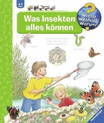 Buch mit Papp-Einband »Was Insekten alles können / Wieso? Weshalb?...«
