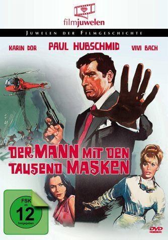 DVD »Der Mann mit den tausend Masken«