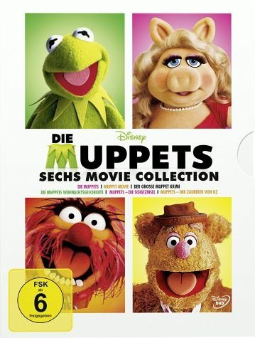 DVD »Die Muppets - 6 Movie Collection (6 Discs)«