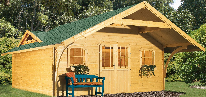 Karibu Gartenhaus »Girion 5«, BxT: 492x402 cm