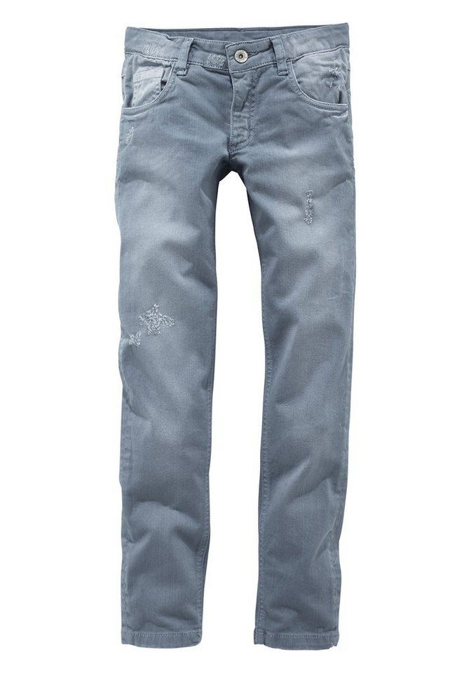 Arizona Jeans Skinny, für Mädchen in Light blue used
