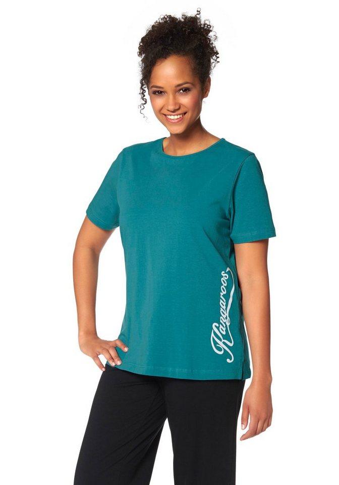 KangaROOS T-Shirt in türkis