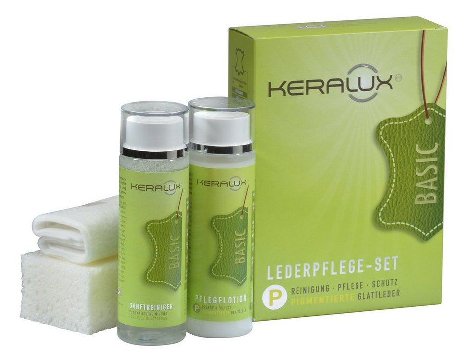 Leder-Pflegeset, LCK, »KERALUX« (5-tlg.)