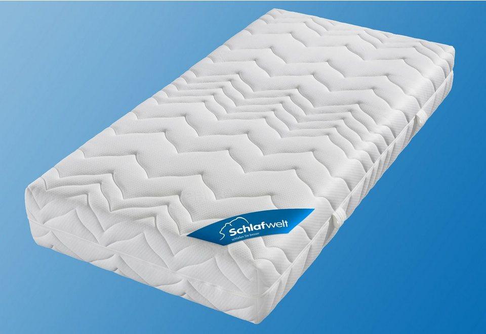 kaltschaummatratze luxus hr xxl schlafwelt 23 cm hoch raumgewicht 40 1 tlg k hlend mit. Black Bedroom Furniture Sets. Home Design Ideas