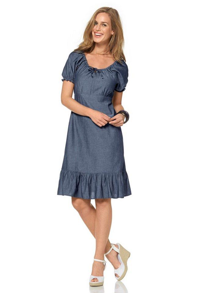 Cheer Jeanskleid in blau
