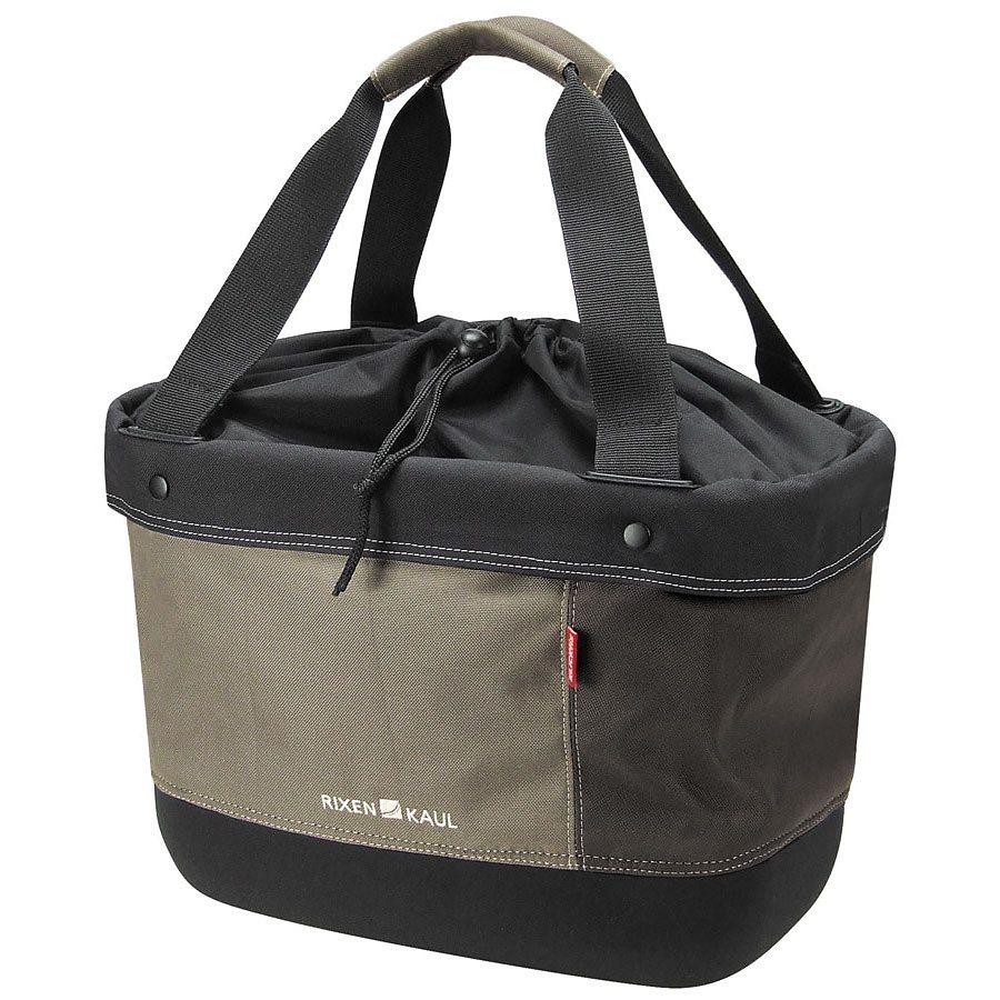 KlickFix Gepäckträgertasche »Shopper Alingo braun«