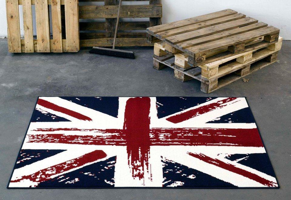 Design teppich hanse home union jack vintage« gewebt