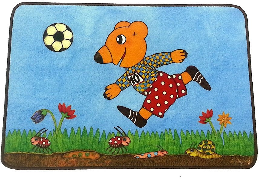 Kinder-Teppich, Hanse Home, »Herzenswünsche Bär«, getuftet in Bunt