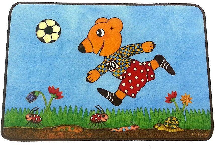 Kinderteppich »Herzenswünsche Bär«, Hanse Home, rechteckig, Höhe 8 mm in bunt