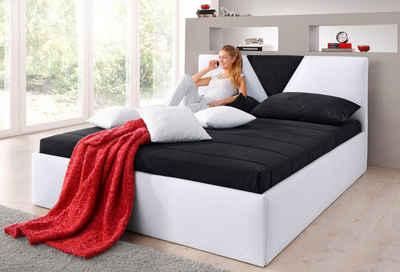Doppelbett weiß mit bettkasten  Bett mit Bettkasten in weiß online kaufen | OTTO