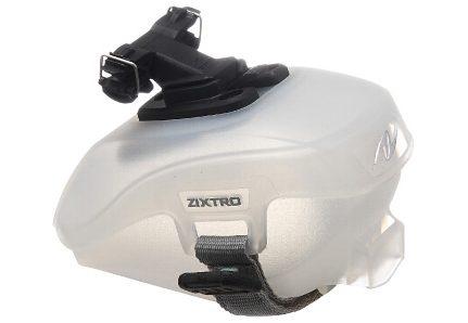Fahrradsatteltasche, »Shell«, transparent, Zixtro