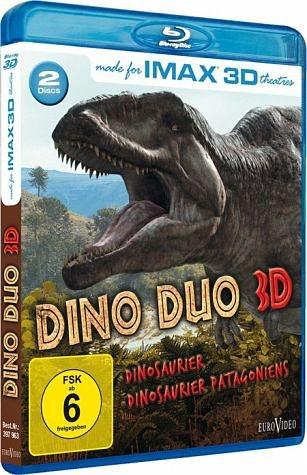 Blu-ray »IMAX: Dino Duo 3D (Blu-ray 3D, 2 Discs)«