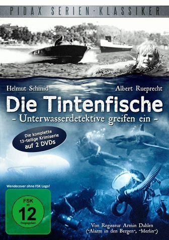 DVD »Die Tintenfische - Unterwasserdetektive...«