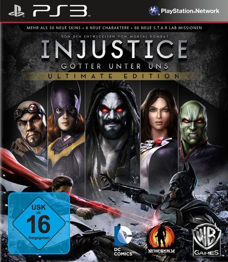 Warner Games Playstation 3 - Spiel »Injustice - Ultimate Edition«