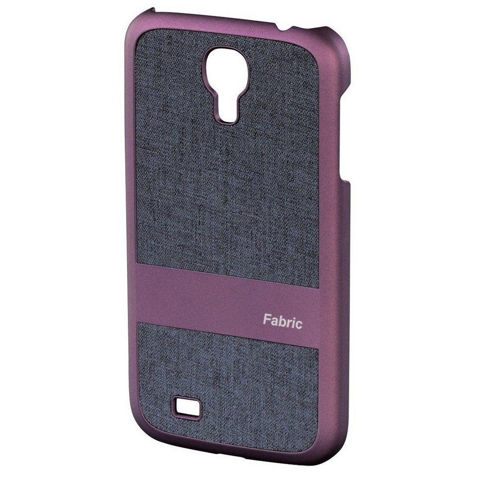 Hama Handy-Cover Fabric für Samsung Galaxy S 4, Blau/Flieder in Grau