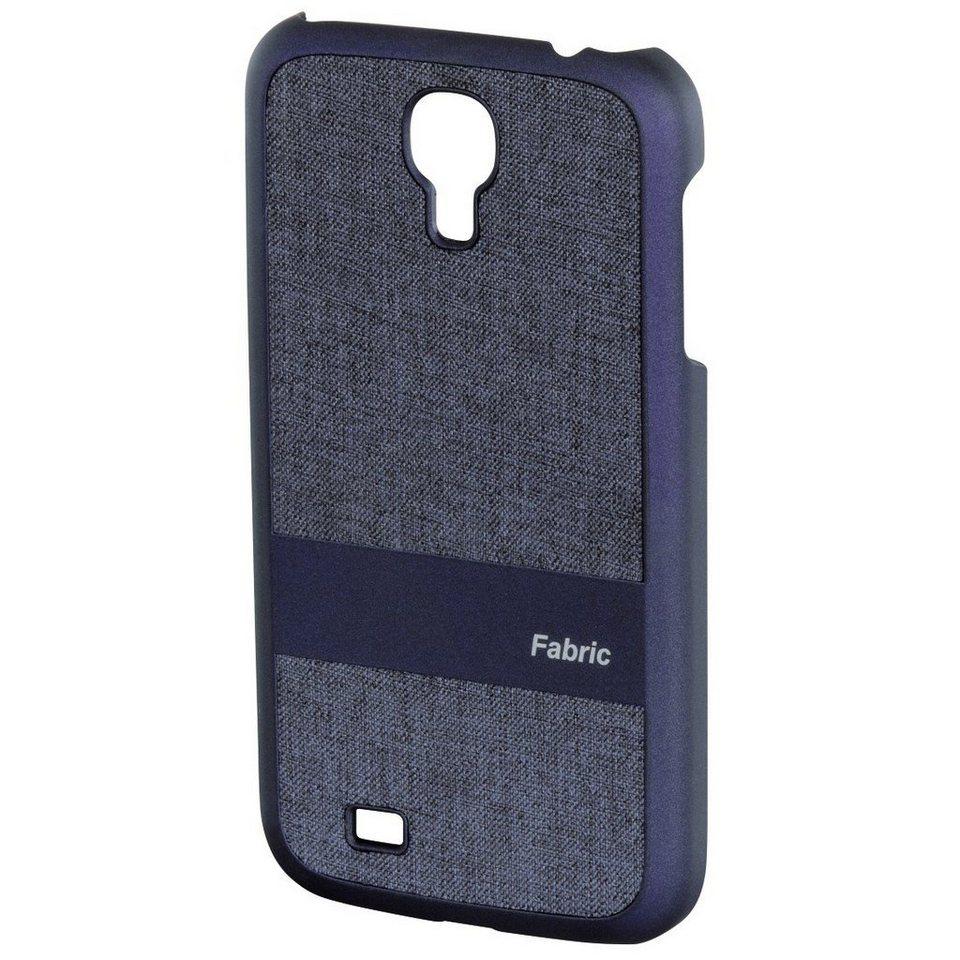 Hama Handy-Cover Fabric für Samsung Galaxy S 4, Blau in Blau