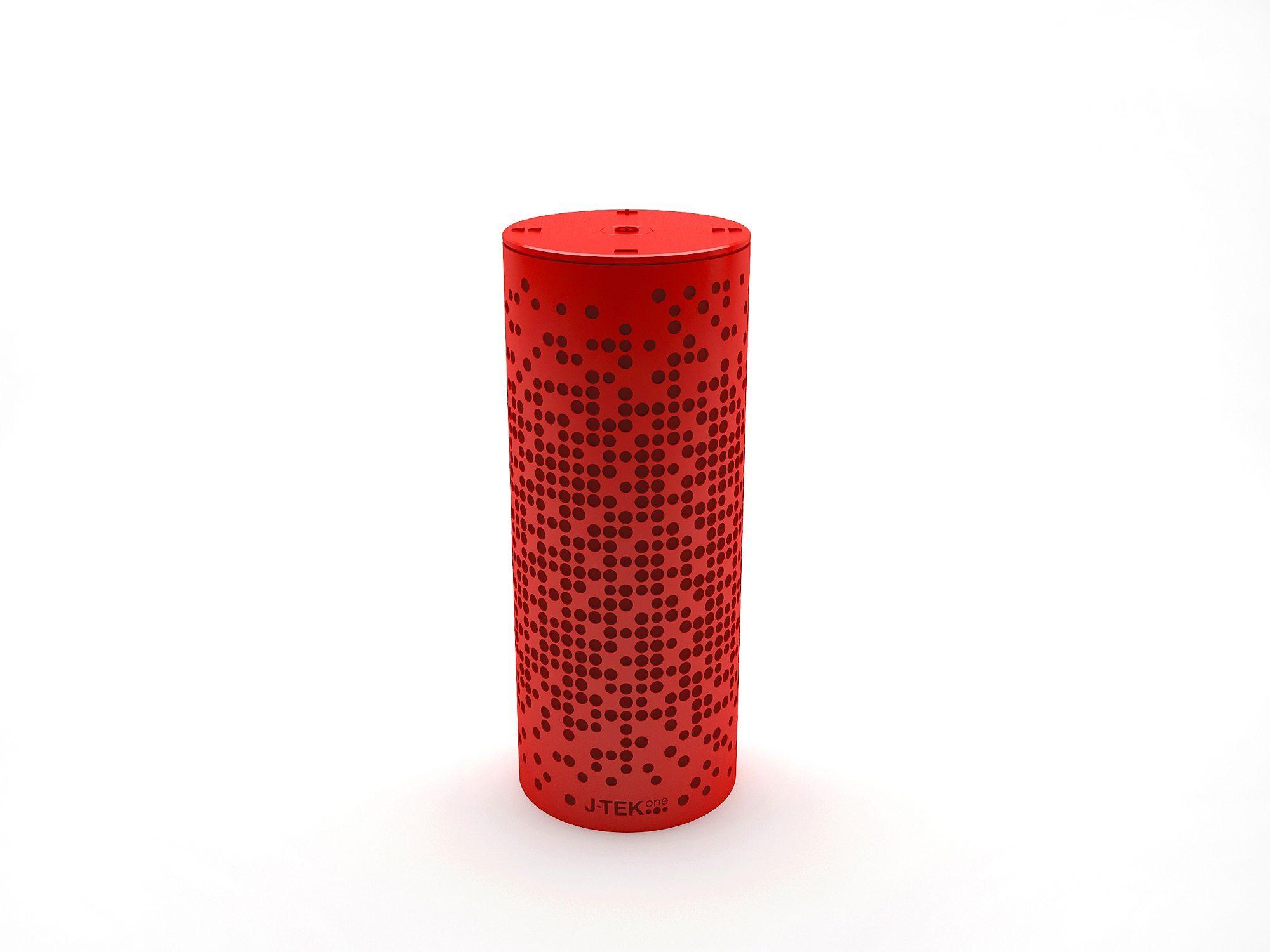 Jarre Technologies Bluetooth Lautsprecher »RainBow One Rot«