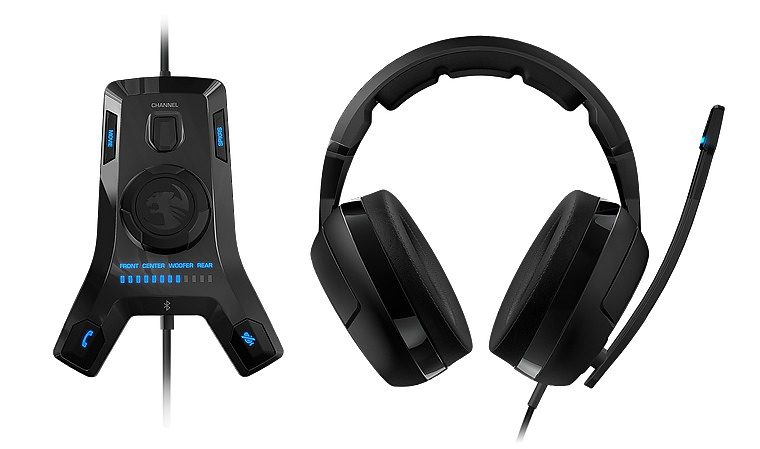 ROCCAT Headset »Kave XTD 5.1 Digital Headset USB Remote Sound Card«