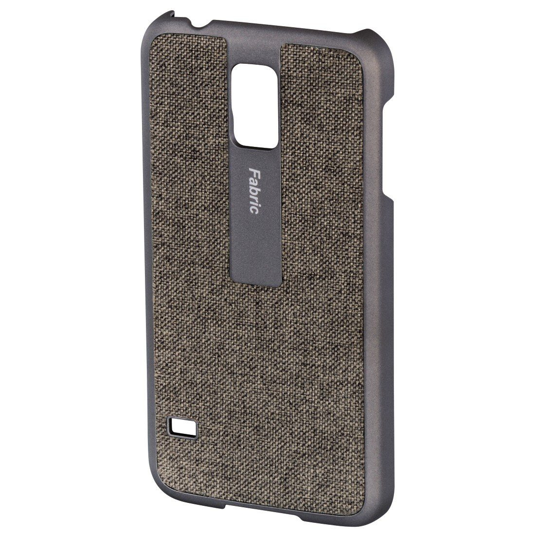 Hama Handy-Cover Fabric für Samsung Galaxy S5 (Neo), Beige/Gold