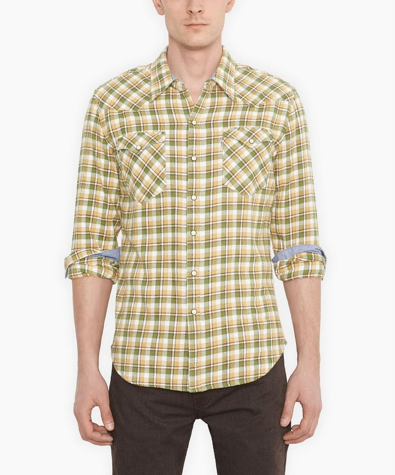 Levi's® Hemd »L/S Barstow Western Shirt« in vineyard green