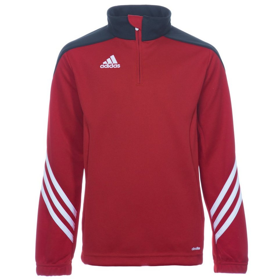 adidas Performance Sereno 14 Trainingssweat Kinder in rot / schwarz / weiß