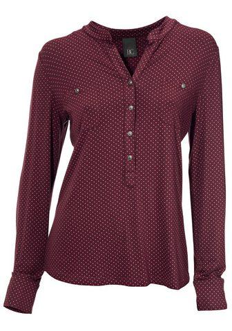 HEINE CASUAL блузка-рубашка с Tupfen