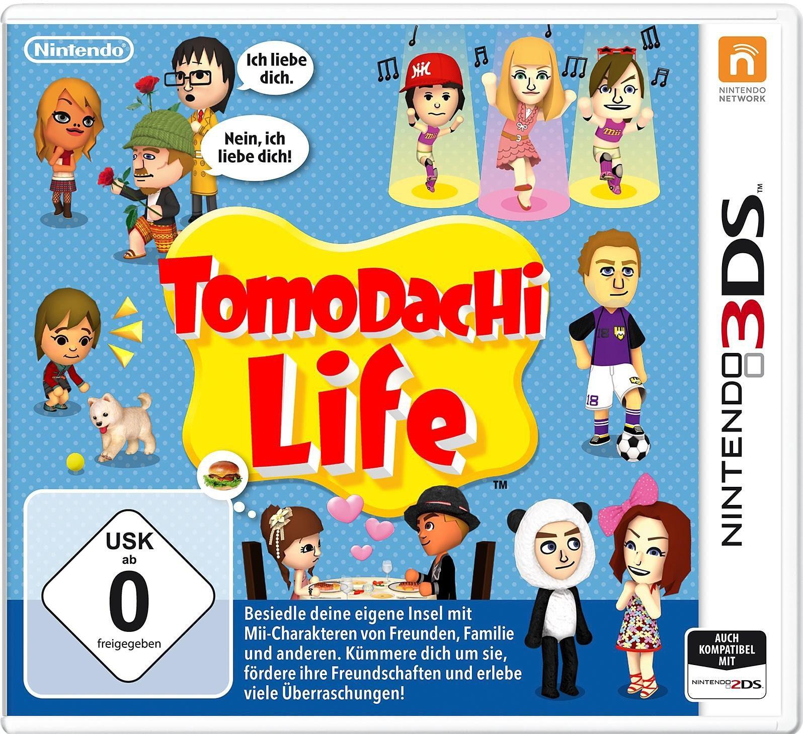 Tomodachi Life Nintendo 3DS