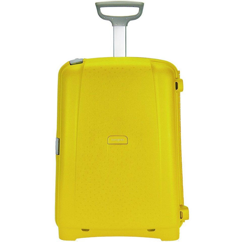 Samsonite Aeris Trolley Upright 2-Rollen 71 cm in lemon