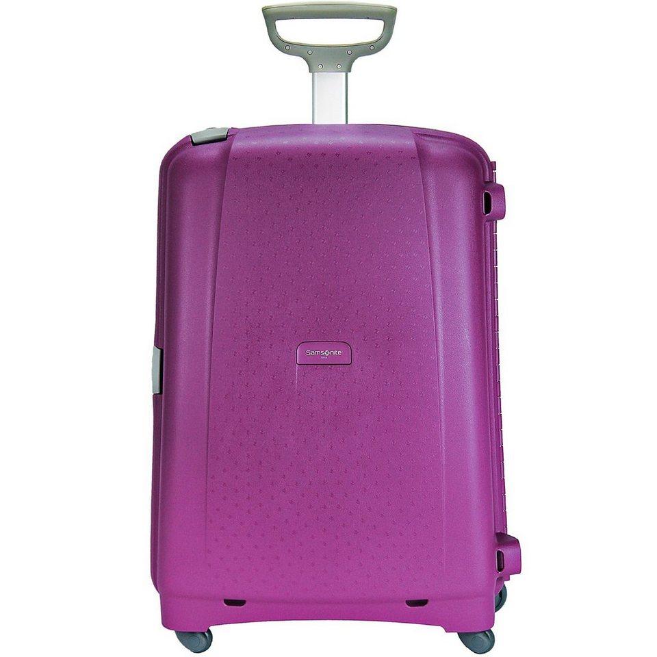 Samsonite Aeris Trolley Spinner 4-Rollen 82 cm in purple
