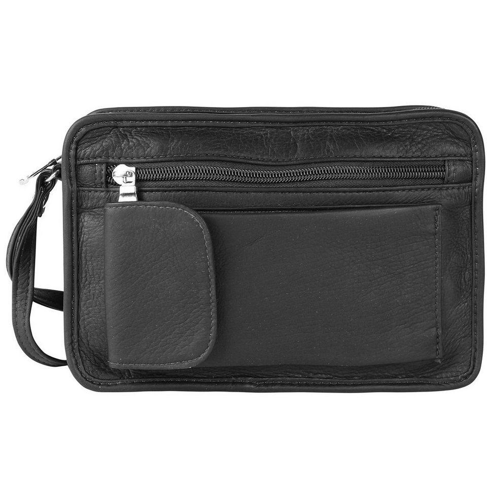 Harold's Country Herrentasche Leder 23 cm in schwarz