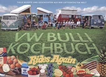 Broschiertes Buch »VW Bulli Kochbuch«