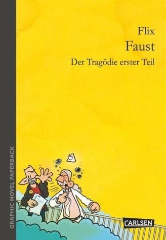 Broschiertes Buch »Graphic Novel paperback: Faust«