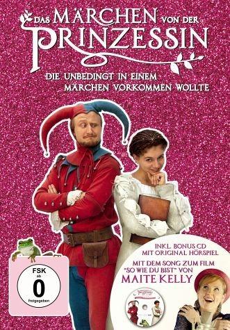 DVD »Das Märchen von der Prinzessin, die unbedingt...«