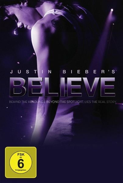 DVD »Justin Bieber's Believe (Fan Edition, 2 Discs)«