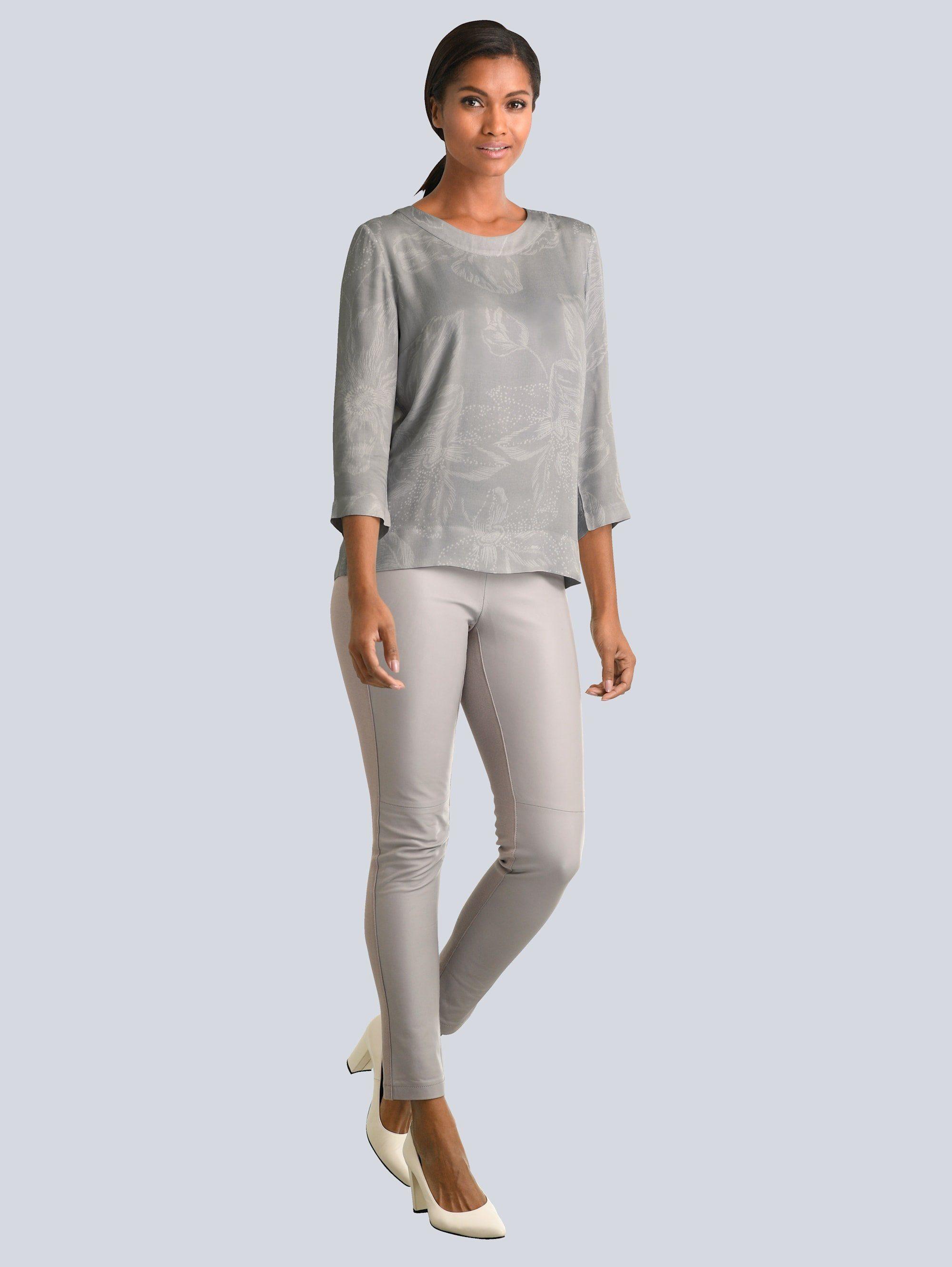 Alba Moda Bluse mit Schleifendetail im Rücken