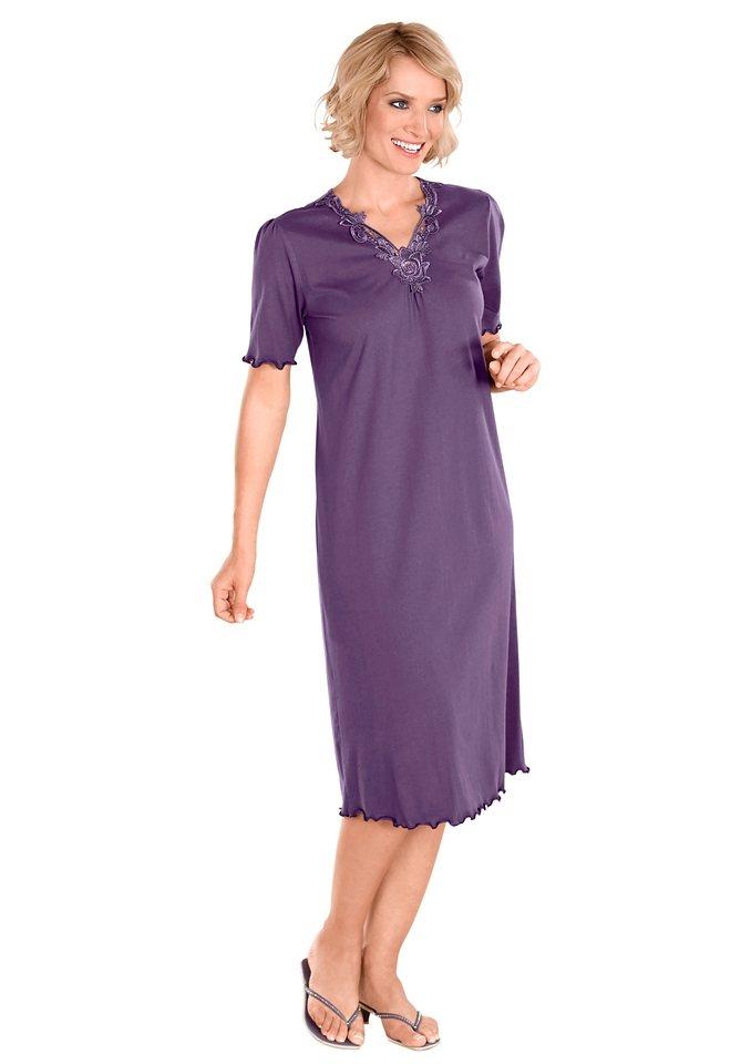 Nachthemd in lila