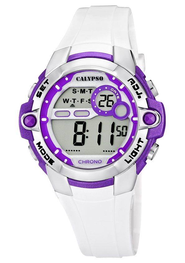 CALYPSO WATCHES Chronograph »K5617/3« in weiß