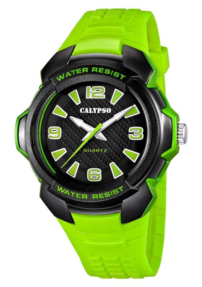 CALYPSO WATCHES Quarzuhr »K5635/3« in grün