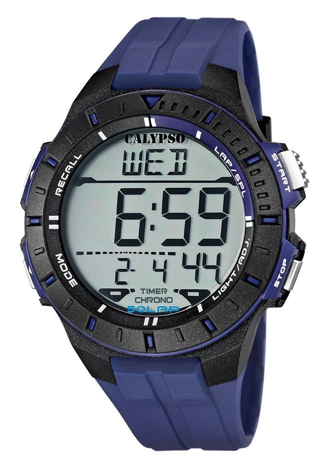 "CALYPSO WATCHES, Chronograph, ""K5607/2"" in blau"