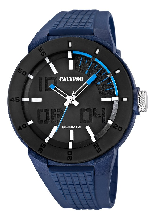 "CALYPSO WATCHES, Armbanduhr, ""K5629/3"" in blau"