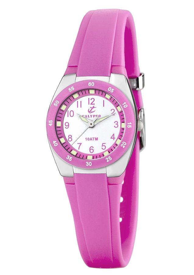 "CALYPSO WATCHES, Armbanduhr, ""K6043/C"" in pinkfarben"