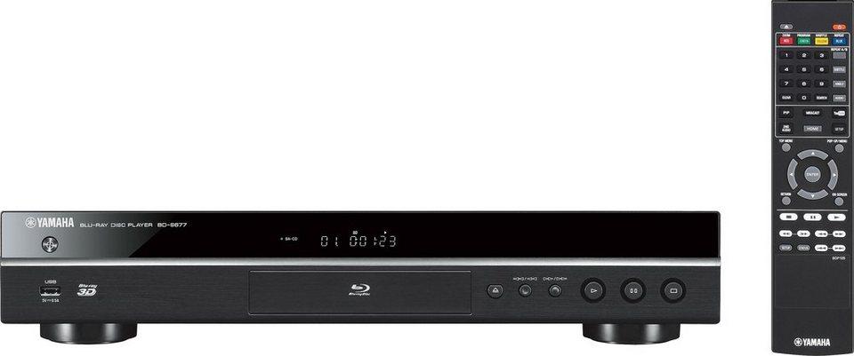 BD-S677 3D Blu-ray-Player, 3D-fähig, 1080p (Full HD), WLAN in Schwarz