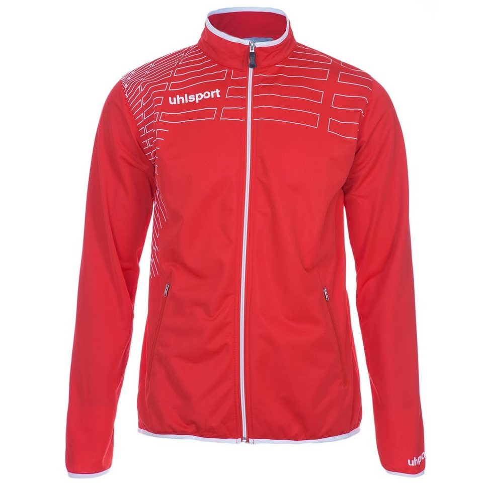 UHLSPORT Match Classic Jacke Kinder in rot/weiß