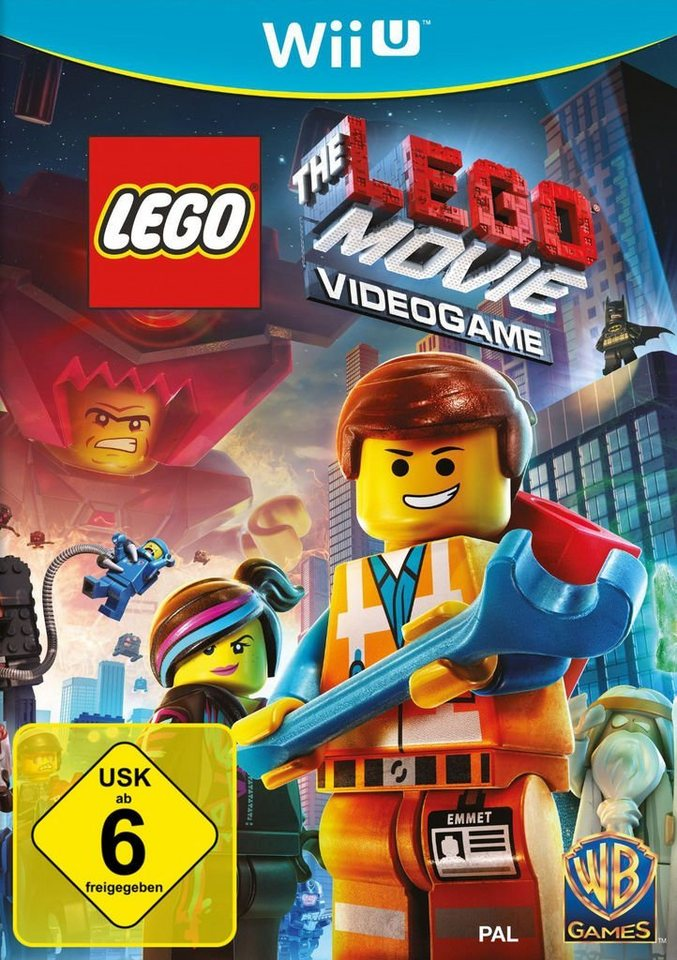 Warner Games Wii U - Spiel »LEGO The Movie Videogame«