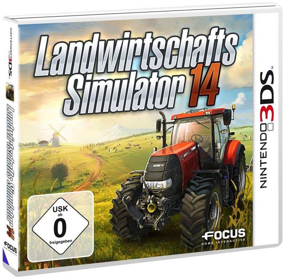 Astragon Nintendo 3DS - Spiel »Landwirtschafts-Simulator 2014«