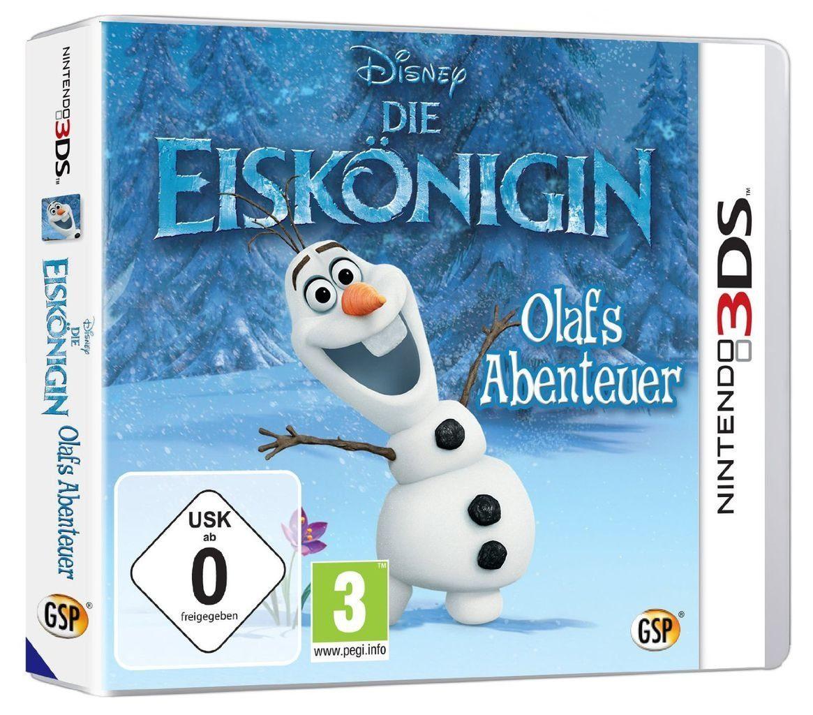 Disney Nintendo 3DS - Spiel »Die Eiskönigin - Völlig unverfroren«