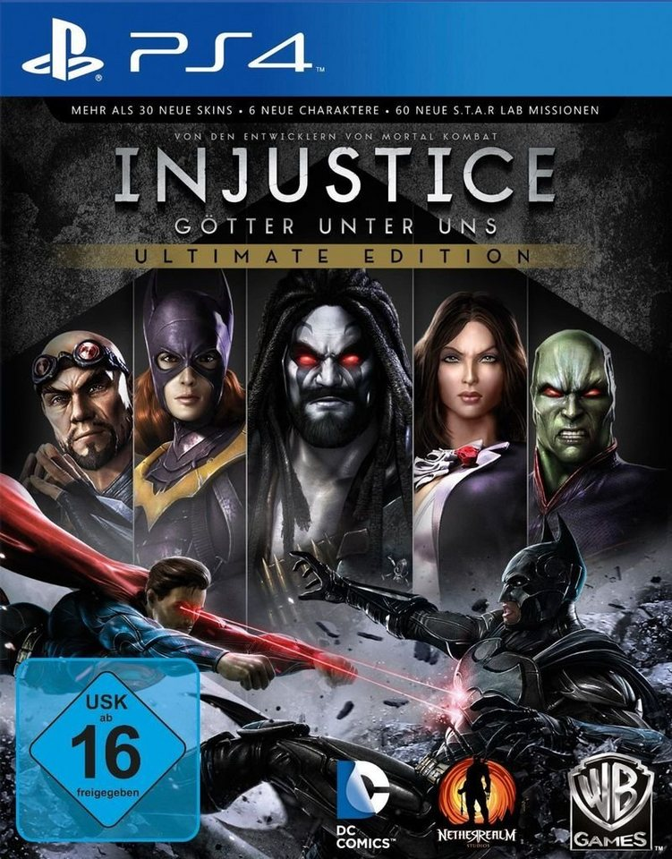 Warner Games Playstation 4 - Spiel »Injustice - Ultimate Edition«